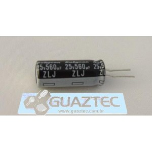 560uF 25V Eletrolíticos
