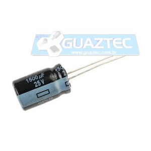 1500uF 25V Eletrolíticos