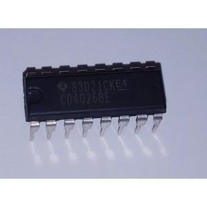 CD4026 Circuito Integrado