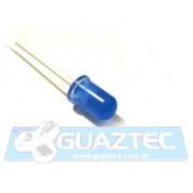 Led Azul 5mm Difuso LED Difuso