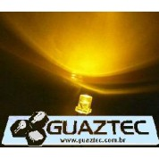 Led Amarelo Flat Top 5mm Alto brilho LED Flat Top (topo reto)