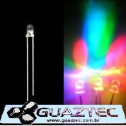 Led 3mm RGB slow LEDs Especiais